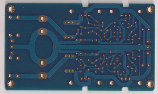 Low-noise super shunt regulator using BJTs user settable +/-15V to +/-70V PCB !