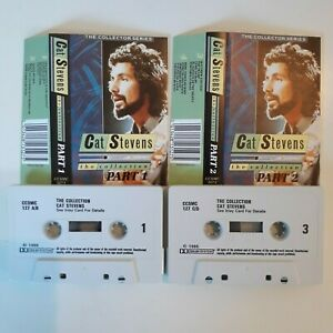 CAT-STEVENS-THE-COLLECTION-2-X-CASSETTE-TAPE-COMPILATION-CASTLE-DECCA-UK-1985