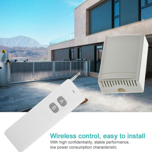 3KM Long Range 2CH Remote Control Switch System Wireless Transmitter Receiver