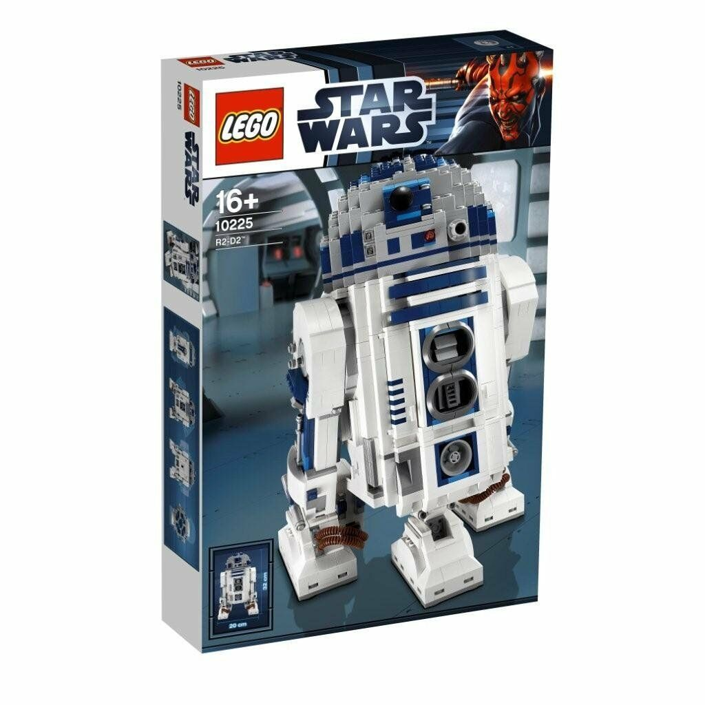 Lego Star Wars 10225-ucs r2-d2 Exclusiv-nuevo & OVP & misb se adapta a 75192