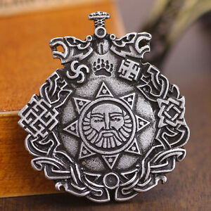 Slavic night knight pendant slavic amulet sun pendants nordic image is loading slavic night knight pendant slavic amulet sun pendants aloadofball Images