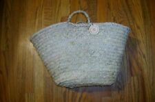 JEANNE BEATRICE Market Basket or beach bag made in Morocco FREE Ship