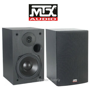 Image Is Loading MTX Audio Monitor5i Bookshelf Speakers 5 25 034