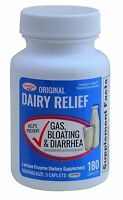 Lactase Enzyme Generic Lactaid Original Strength 180 Caplets