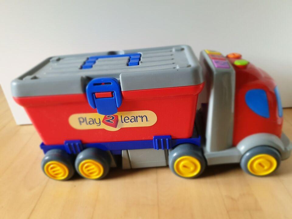 Blandet legetøj, Støvsuger og lastbil, Bosch og