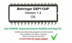 Behringer-DSP1124P-Version-1-4-Firmware-Update-Upgrade-EPROM-OS-for-DSP-1124