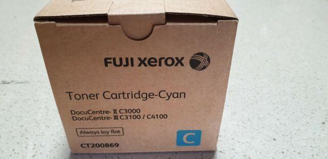 Genuine Xerox CT200869 Cyan Toner DocuCentre-II C3000 DocuCentre-III C3100 C4100