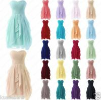 2016 New Bridesmaid Dress Short Evening Formal Ball Prom Party Gown Dresses 6-18