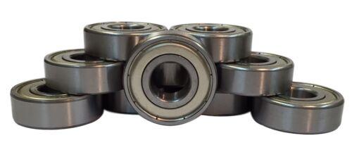 10 pack 6007-ZZ Shielded Radial Ball Bearing 35X62X14