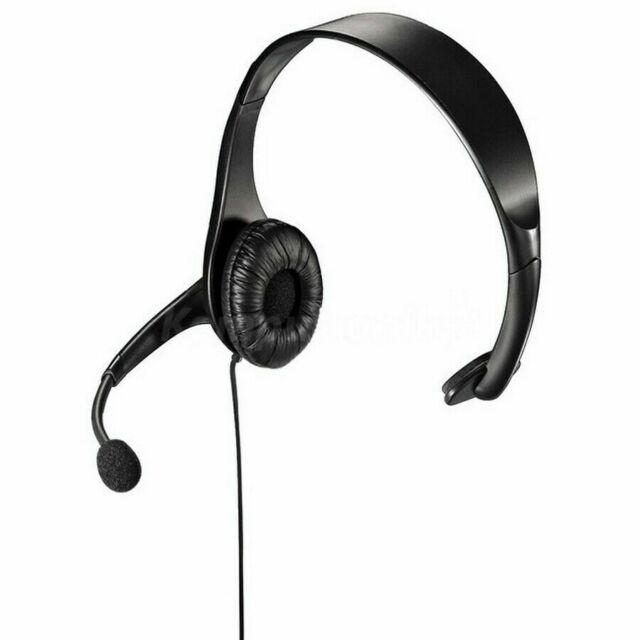 CASQUE THOMSON AVEC MICROPHONE Pour PC Ordinateur MICRO anti-bruit ajustable