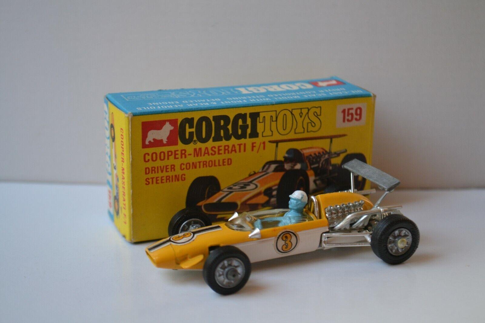 Corgi Toys 159 Cooper-Maserati F 1 OVP