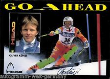 Oliver Künzi TOP AK 90er Jahre Original Signiert +A14392 + A 65898