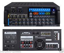 Martin Ranger PS-88R 750W Digital Mixing Karaoke Amplifier w/ MP3 Recorder