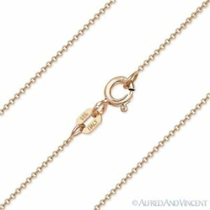 1mm-Rolo-Link-Cable-Chain-Necklace-in-925-Italy-Sterling-Silver-amp-14k-Rose-Gold