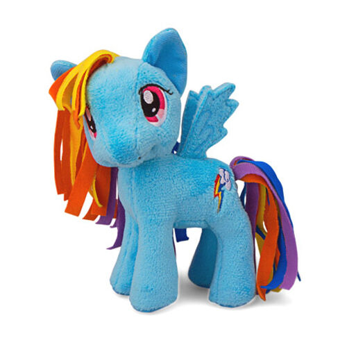 "Twilight Sparkle My Little Pony 5/"" Plush: Pinkie Pie Fluttershy Rainbow Dash"