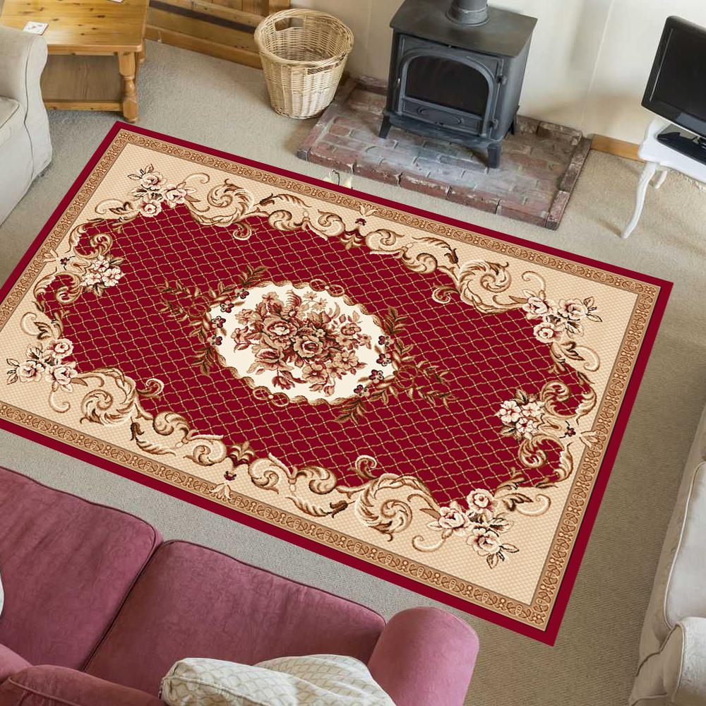 Orientteppich Teppich Klassisch Perser Gadus Rot-Beige Sondergröße 280 280 280 x 370 a6a39f