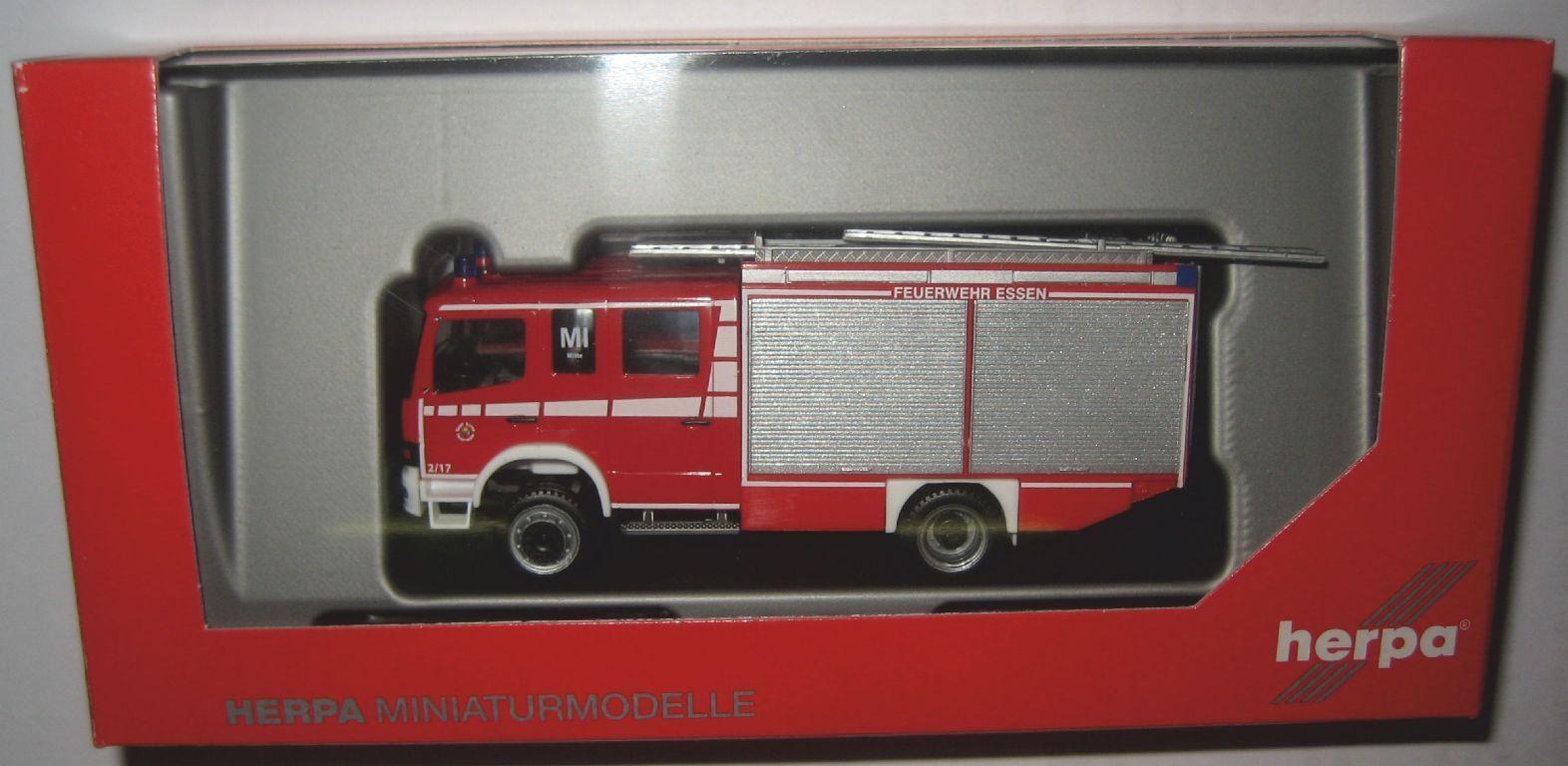 Herpa 093750 Mo Atego HLF pompiers volontaires manger-Centre 1 87 voie HO