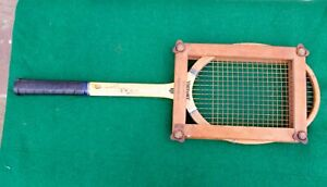 Vintage Slazengers VICTORY Tennis Racquet & Original Slazenger Frame Excellent
