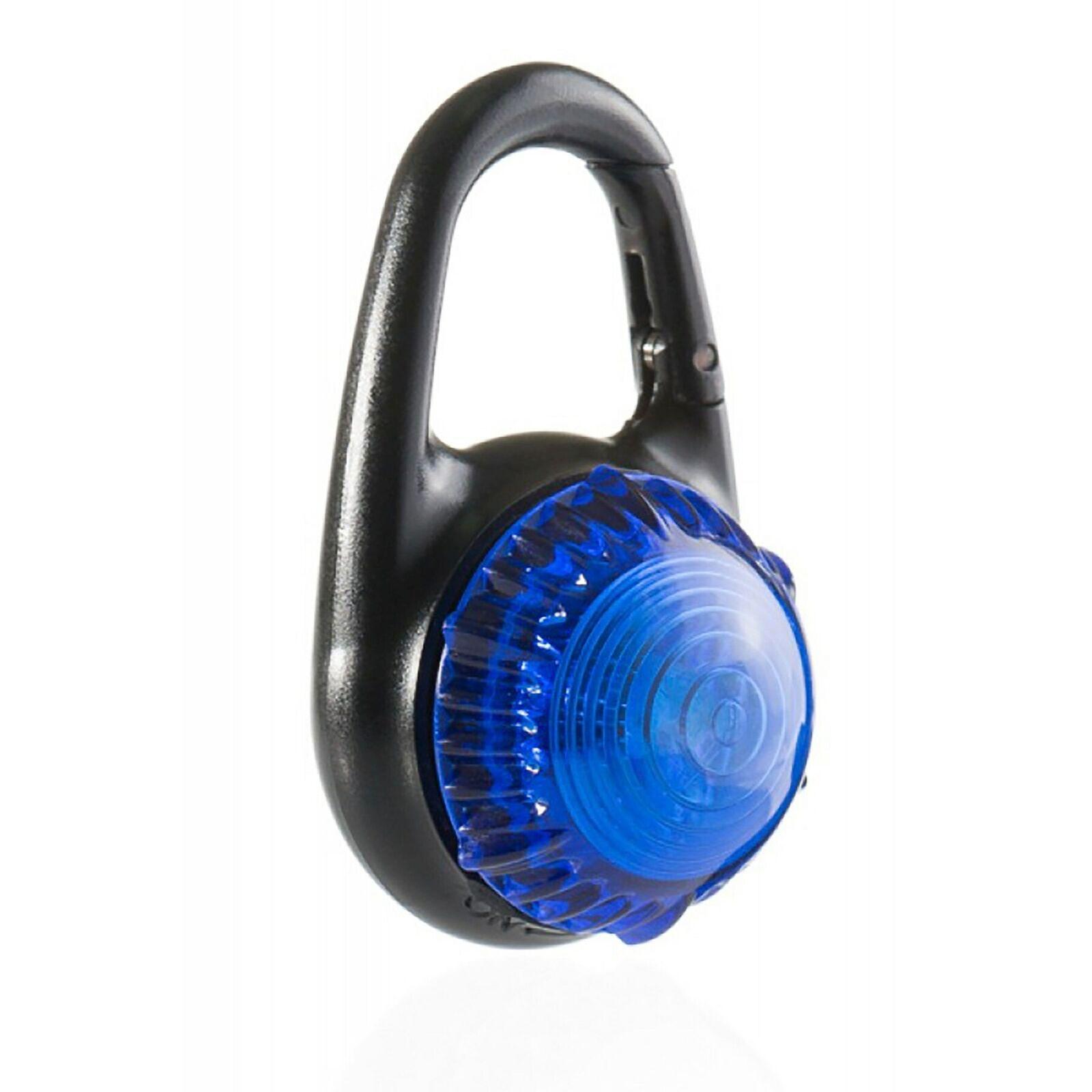 Luces de aventura Guardian  Tag-Mosquetón Azul Luz de Seguridad (6 paquetes)  conveniente