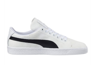 b868c9ad60d PUMA Basket Classic Evoknit Mens UK 8 EU 42 Off White   Black ...