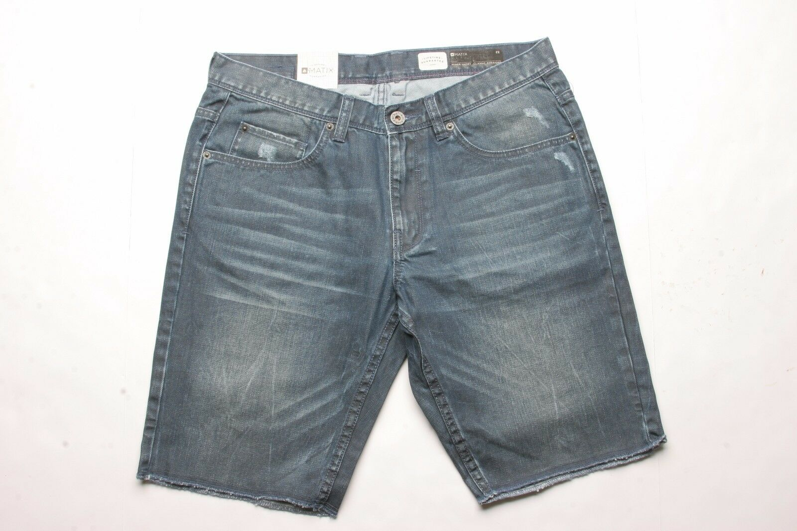 MATIX Miner Denim Short (32) Worn Roan