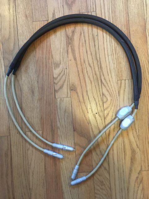 Pair MIT CVT MI-330 Shotgun Terminator Interconnect RCA Cables 1.5 Meter