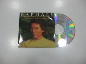 Raphael CD Single Spanisch Siempre Diese Spruch Als Te Vas + 3. 1998 Promo