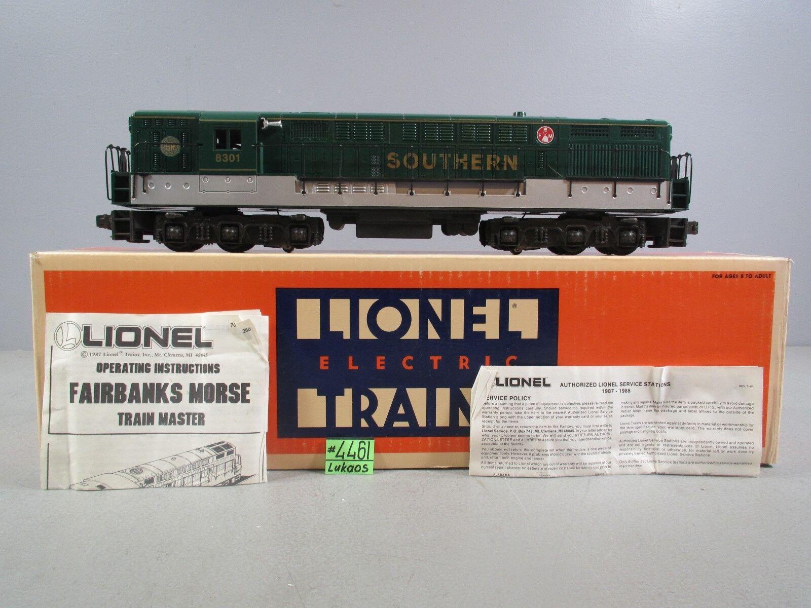 LIONEL  6-18301 SOUTHERN FAIRBANKS MORSE DIESEL ENGINE  IN BOX C-8