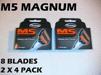Personna M5 Magnum - 8 Blades (2 X 4 Pack)