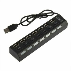 7-Port-USB-Hub-Multi-Splitter-Expansion-Power-Adapter-For-Nokia-9-PureView