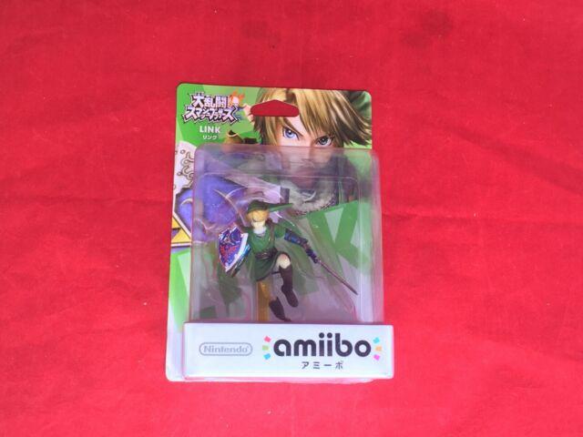 Amiibo Zelda Link Smash Brothers Nintendo Japon Jouet Figurine Jeu F/S