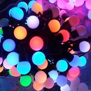 5m-RGB-LED-Lichterkette-50-Kugeln-bunt-Partybeleuchtung-bunt-Partylichterkette