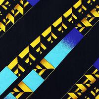 100% Silk Mens Pocket Square Hanky Rush Limbaugh No Boundaries Illusion Blue