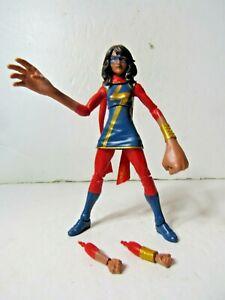 Marvel Legends MS MARVEL KAMALA 6 inch Action Figure Loose Spider-Man Free Ship