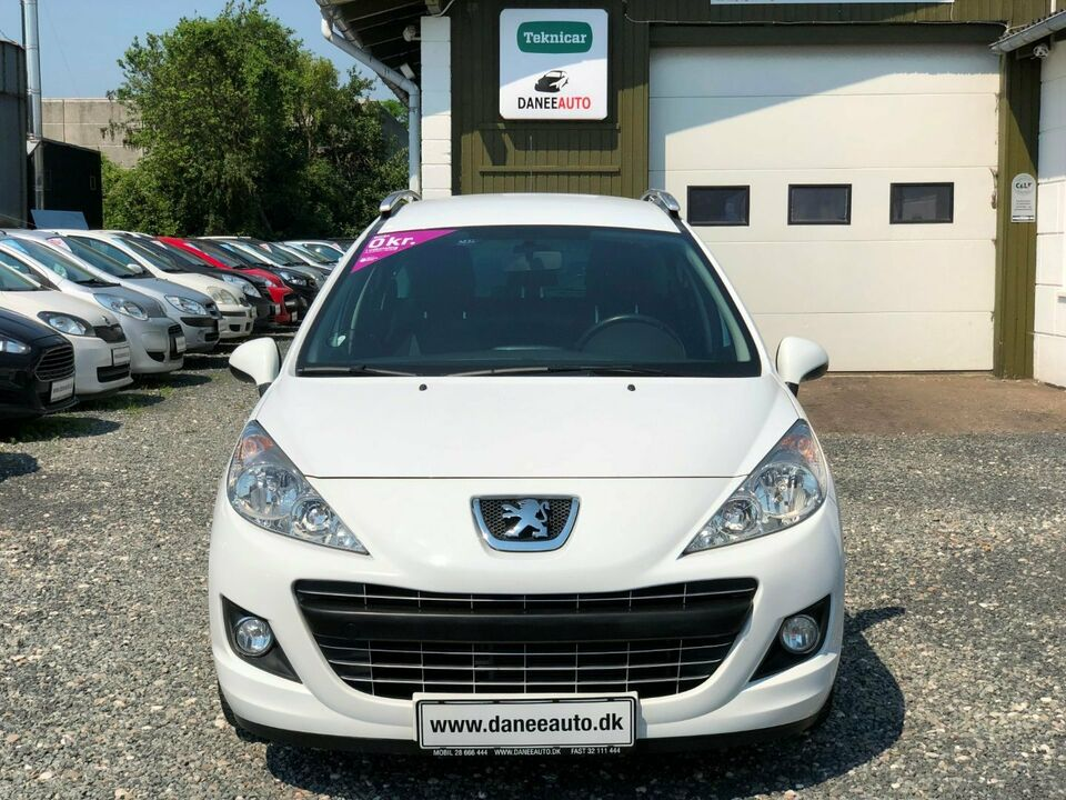 Peugeot 207 1,6 VTi Sportium SW Benzin modelår 2012 km