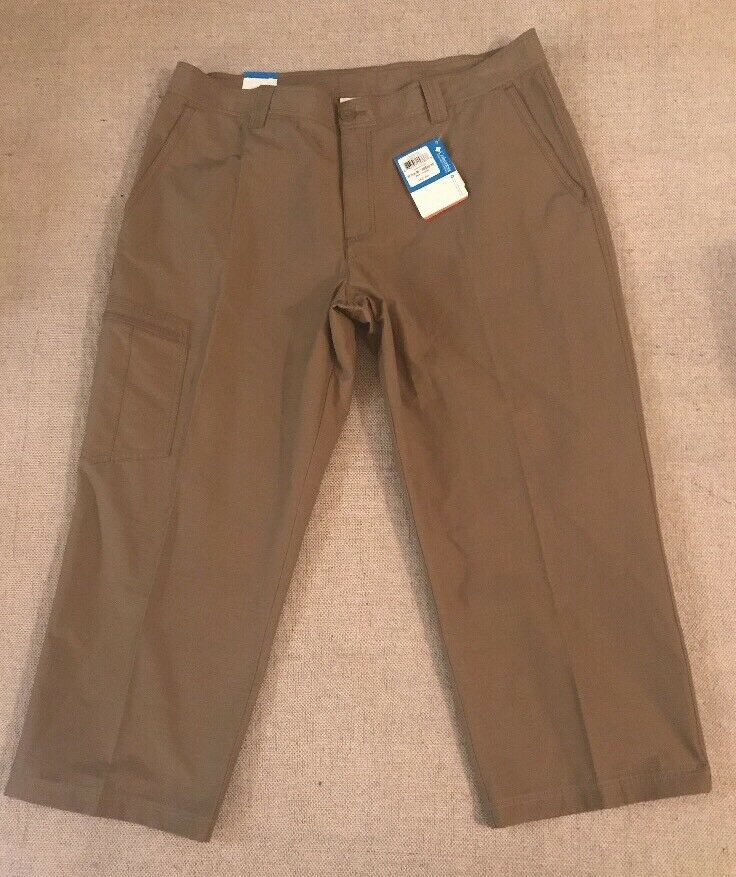 COLUMBIA Men's 40x30 Cargo Fishing Hiking Pants 100% Droite  A3