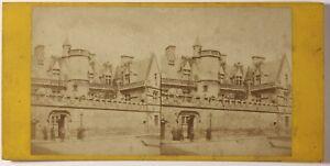 Museo-Da-Cluny-Parigi-Foto-Stereo-PL46L3n-Vintage-Albumina-c1865