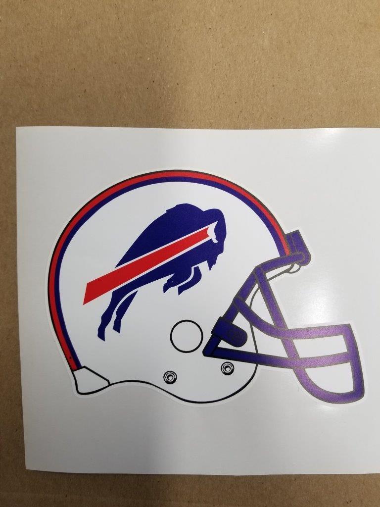 Buffalo Bills cornhole board or vehicle decal(s)BB2