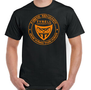 Blade-Runner-T-Shirt-Mens-Tyrell-Unisex-Top-Generic-Replicant-SCI-Fi-Movie-Film