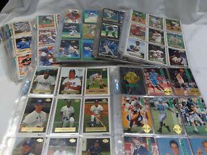 Mixed-Lot-Collectible-Sports-Cards-Baseball-Football-Hockey-700-Cards-A