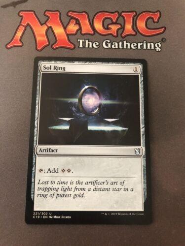 MTG Commander 2019 Sol Ring Magic The Gathering