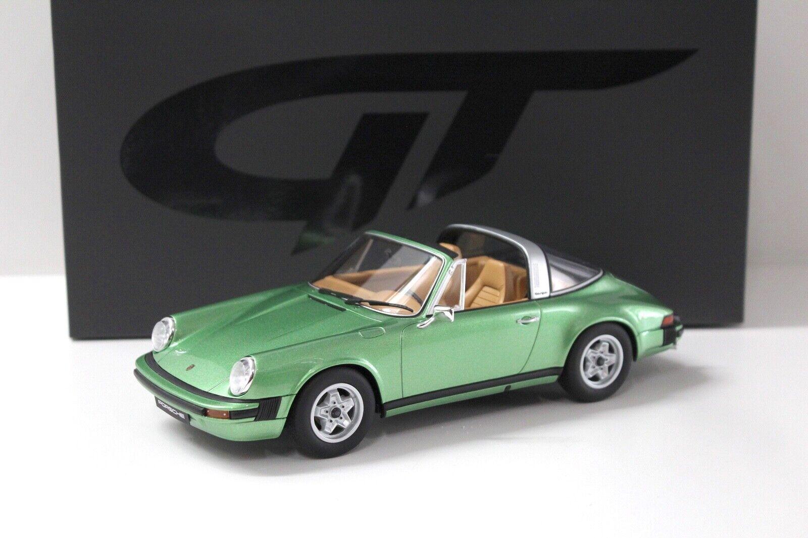 1 18 GT Spirit PORSCHE 911 2.7 TARGA 1974 ASCOT verde NEW in Premium-MODELCARS