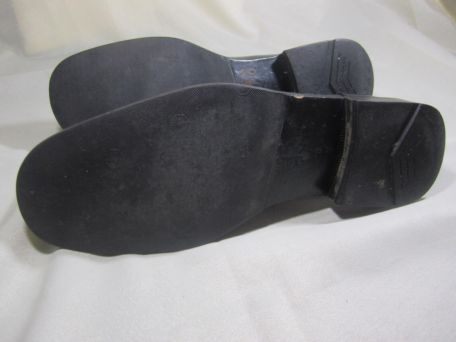 SALVATORE FERRAGAMO schwarz STUDIO GUN METAL BIT schwarz FERRAGAMO LEATHER DRESS schuhe LOAFERS SZ 8D 8ec2fc