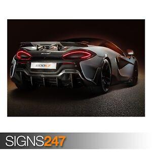 MCLAREN-600LT-REAR-VIEW-ZZ030-CAR-POSTER-Photo-Poster-Print-Art-All-Sizes
