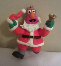 Grolier Telly Monster as Santa Sesame Street Christmas Ornament Jim Henson