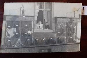 Capable Carte Postale Carte Postale Publicité Publicité Shirt-shop 1910 G-afficher Le Titre D'origine