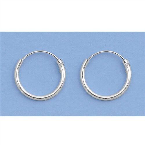 Mini Hoop Sterling Silver 925 Best Price Jewelry 12mm x 3pair Set Flower Sticker