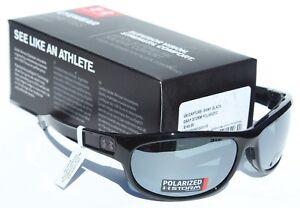 ea0aa2b75044 Image is loading UNDER-ARMOUR-Capture-POLARIZED-Sunglasses-Shiny-Black-Gray-