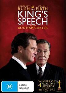 The-King-039-s-Speech-DVD-2011-Geoffrey-Rush-Colin-Firth-FREE-POST