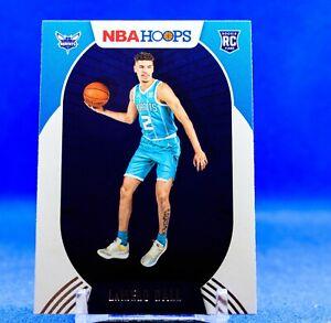 LaMelo Ball 2020-21 NBA Hoops Rookie Card Charlotte Hornets Hot RC ROY Hot 🔥🔥
